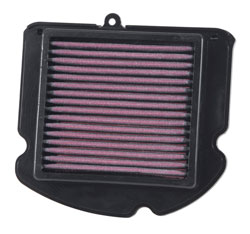 AIRAID 850-602 air filter for the Yamaha YXZ1000R SxS top view