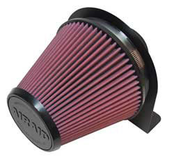 """100-201 AIRAID Air Filter Mount with 6"""" Filter Inlet and 3"""" Intake Tube Inlet"""