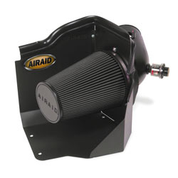 The cold air dam houses a massive nine-inch tall filter that can deliver the cool, fresh air