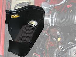 An AIRAID 202-240 Air Box Intake creates a cold air chamber for all 96-00 GM fullsize trucks & S