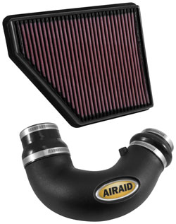 The AIRAID 250-714 Jr. Kit is designed for 2010-2015 Chevrolet Camaros.