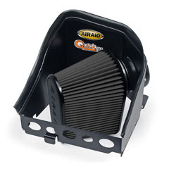 The cold air dam panels help provide a free-flowing supply of cooler outside air into your Cummins