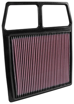 AIRAID Direct-Fit Replacement Filters increase power while protecting the engine from contaminants