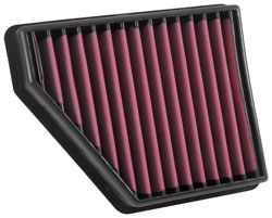Give your 5th-Gen Camaro a mod-free power gain with an AIRAID SynthaMax Air Filter