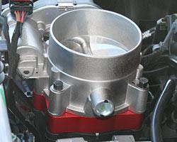 AIRAID POWERAID Throttle Body Spacer kit 300-631-1
