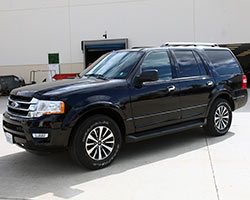 Black 2015 Ford Expedition