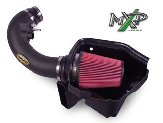AIRAID 2011-2014 Ford Mustang GT MXP air intake system, number 450-303, is designed to easily bolt on, but custom tuning is required to utilize the potential power this intake offers for racing
