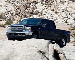 Ford F-Series Super Duty Power Stroke diesel pickup