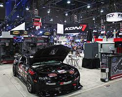 AIRAID carbon fiber air intake system equipped 2014 Chevrolet Camaro Z28