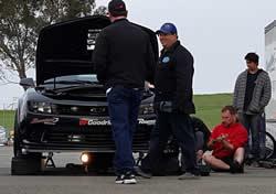 Thwaits testing Camaro Z28 at Putnam Park
