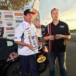 Thwaits winning Optima's GT Class at Thunderhill Raceway
