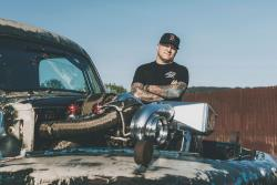 Scott Birdsall of Chuckles Garage and his 1949 Ford F1