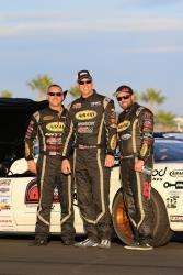 View of AIRAID Team Drivers Randy Johnson, Chris Jacobs and Jordan Priestley