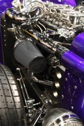"""The Mayflower badge ties together the pioneering design of Andrew Faris' 1929 """"Plymouth Roc"""