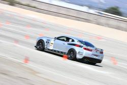 Shot of Jordan and Evilynn on course at Hotchkis Cup Auto X, Autoclub Speedway, Fontana