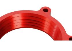 POWERAID Throttle Body Spacers are manufactured from Aircraft Grade Billet 6061-T6 aluminum