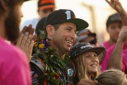 AIRAID-sponsored Jeremy McGrath celebrating his championship with his family and friends