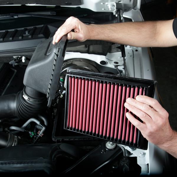Installing airaid air filter