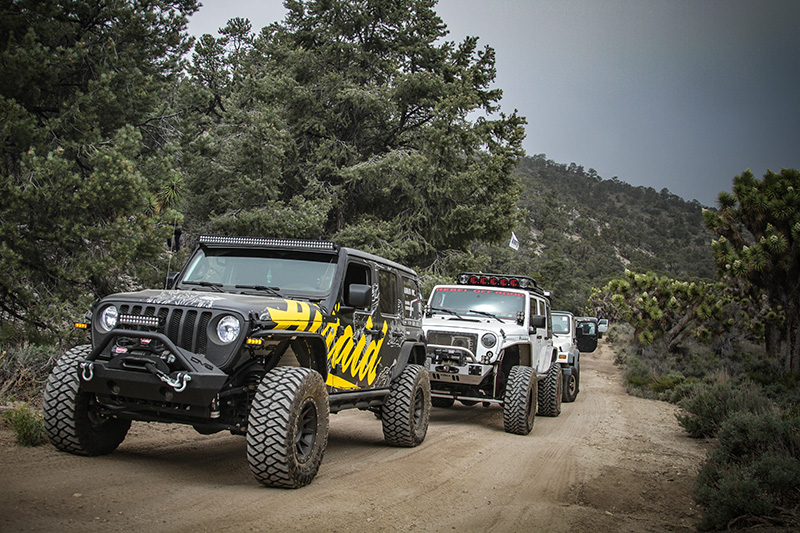 The Airaid Jeep at Jeep Jamboree
